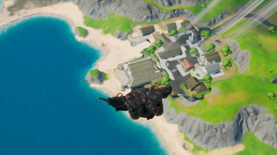 Fortnite Open Water Mission Requests You To Land At Craggy